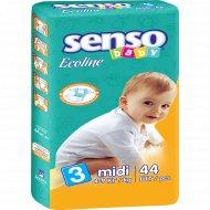 Подгузники «Senso» Baby Ecoline размер 3, 4-9 кг, 44 шт.