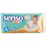 Подгузники «Senso» Baby Ecoline, размер 4, 7-18 кг, 40 шт