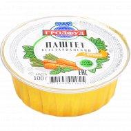 Паштет вегетарианский «Гродфуд» с морковью, 100 г.