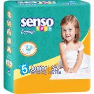 Подгузники «Senso Baby Ecoline» размер 5, 32 шт.