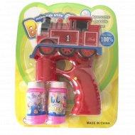 Пистолет для мыльных пузырей.