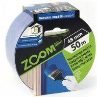 Лента малярная «Zoom» профессиональная, 48 мм/50 м, синяя