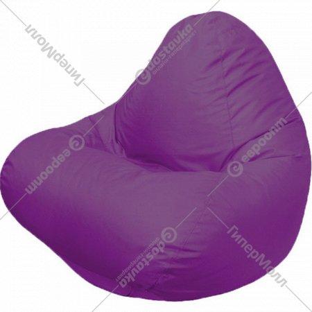 Бескаркасное кресло «Flagman» Relax Г4.2-12, фиолетовый