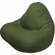 Бескаркасное кресло «Flagman» Relax Г4.2-04, тёмно-оливковый
