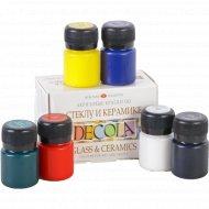 Набор красок «Decola» 6 цветов.