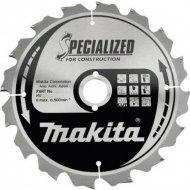 Диск пильный «Makita» B-31267, 190х30 мм