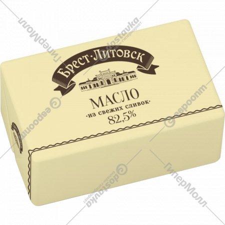 Масло сладкосливочное «Брест-Литовск» несоленое, 82.5%, 180 г.
