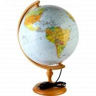 Глобус физико-политический с подсветкой, диаметр 320 мм.