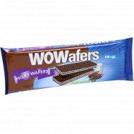 Вафли «Wowafers» молочные, 140 г.