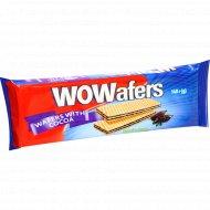Вафли «Wowafers» с какао, 140 г.