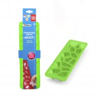 Форма силиконовая «Айсберг» для льда и шоколада, 25.5х7х3 см.