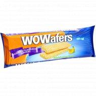 Вафли «Wowafers» со вкусом банана, 140 г.