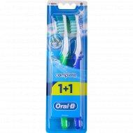 Зубная щетка «Oral-B» средняя жесткость, 1+1 шт.