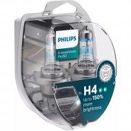 Комплект автоламп «Philips» H4 X-treme Vision Pro150, 12342XVPS2, 2 шт