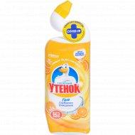 Чистящее средство для унитазов «Туалетный Утенок» 5в1 цитрус, 500 мл