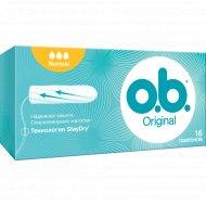 Тампоны «O.b» original, normal 16 шт.