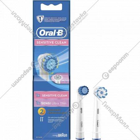 Насадка для зубной щетки «Oral-B» Sensitive, 2 шт.