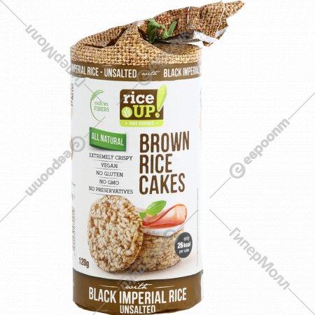 Цельнозерновые хлебцы «Rice UP!» из бурого риса, 120 г.