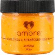 Сорбет «Amore» облепиха с алтайским медом, 300 г.
