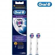 Насадка для электрической зубной щетки «Oral-B» 3D White, 2 шт.