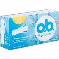 Тампоны «o.b.» Pro Comfort Normal 16 шт.