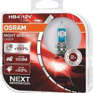 Комплект автоламп «Osram» HB4 9006NL-HCB, 2 шт
