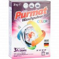 Средство моющее синтетическое «Purmat» color, 3 кг.