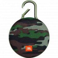 Портативная колонка «JBL» Clip 3 Squad Camouflage.