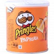 Чипсы «Pringles» со вкусом паприки, 40 г.