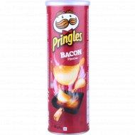 Чипсы «Pringles» со вкусом бекона 165 г.