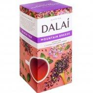 Чай черный «Dalai» чабрец, мята, персик, 25 пакетиков.