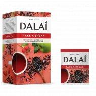 Чай черный «Dalai» шиповник, яблоко, васильки, тропические фрукты, 25 пакетиков.