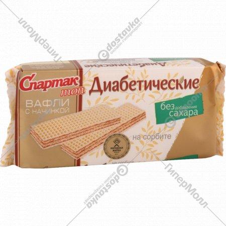 Вафли с начинкой «Спартак» диабетические, 72 г.