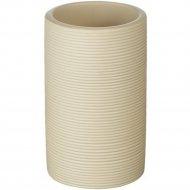 Стакан туалетный полирезин «Roller» 6.5 х 6.5 х 11.3 см.