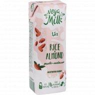 Напиток «Vega milk» рисово-миндальный, 1.5%, 250 мл