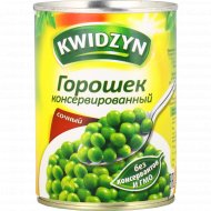 Горошек консервированный «Kwidzyn» сочный, 400 г.