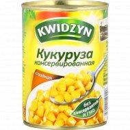 Кукуруза консервированная «Kwidzyn» сладкая, 400 г.