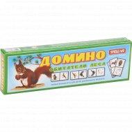 Игра настольная «Домино» обитатели леса, 00018.