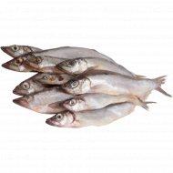 Рыба «РыбаХит» Мойва с головой свежемороженая, 1 кг., фасовка 1-1.2 кг