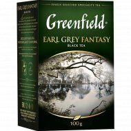 Чай черный «Greenfield» Earl Grey Fantasy, 100 г.