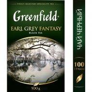 Чай черный «Greenfield» Earl Grey Fantasy, 100 г.