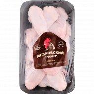 Крыло цыпленка-бройлера, охлажденное, 1 кг., фасовка 0.55-0.8 кг