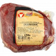 Мясо говяжье «Оковалок» охлажденное, 1 кг., фасовка 0.6-0.1 кг