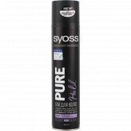 Лак для волос «Syoss» Pure Hold, 300 мл.