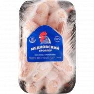 Крыло цыпленка-бройлера «Медновский бройлер» замороженное, 1 кг., фасовка 0.6-0.8 кг