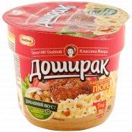 Картофельное пюре «Доширак» со вкусом мяса, 40 г.