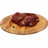 Печень кролика, замороженная, 1 кг., фасовка 0.65-0.85 кг