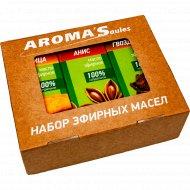 Набор эфирных масел «Специи» анис, гвоздика, корица, 3х10 мл.