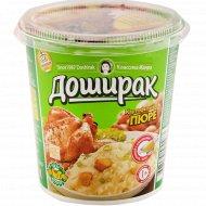 Картофельное пюре «Доширак» со вкусом курицы, 52 г.