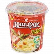 Пюре картофельное «Доширак» соус, говядина с овощами, 52 г.